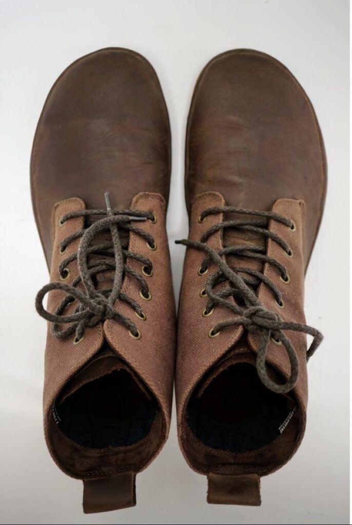 Barefoot obuv má dostatečný prostor pro prsty podle anatomie našich nohou.