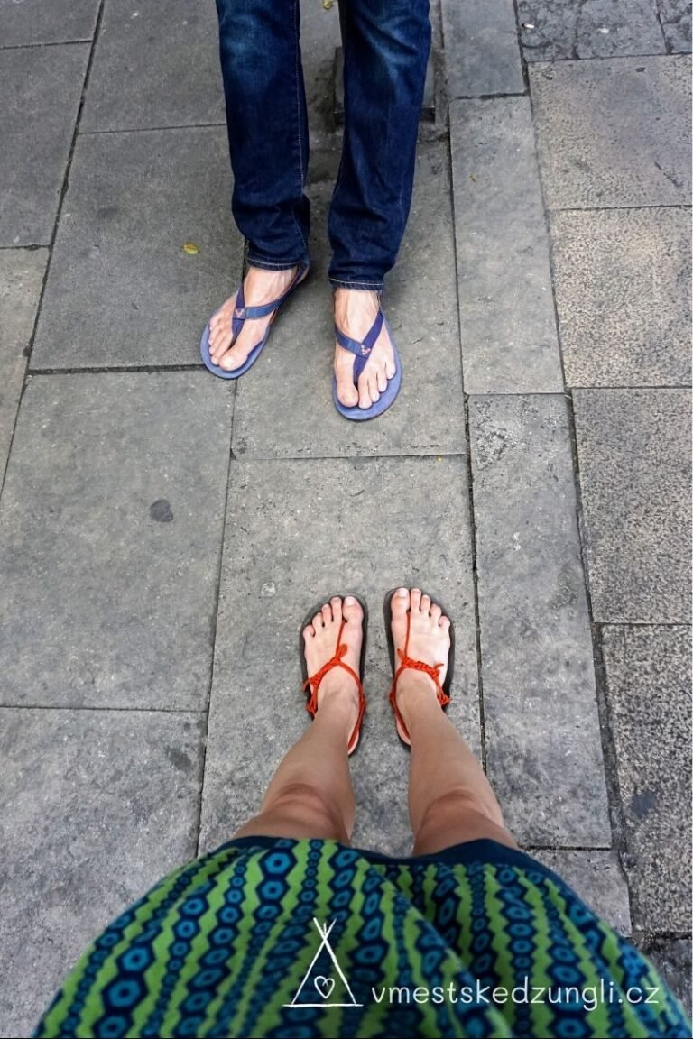 Barefoot huarache si můžete vyrobit sami za pár korun.