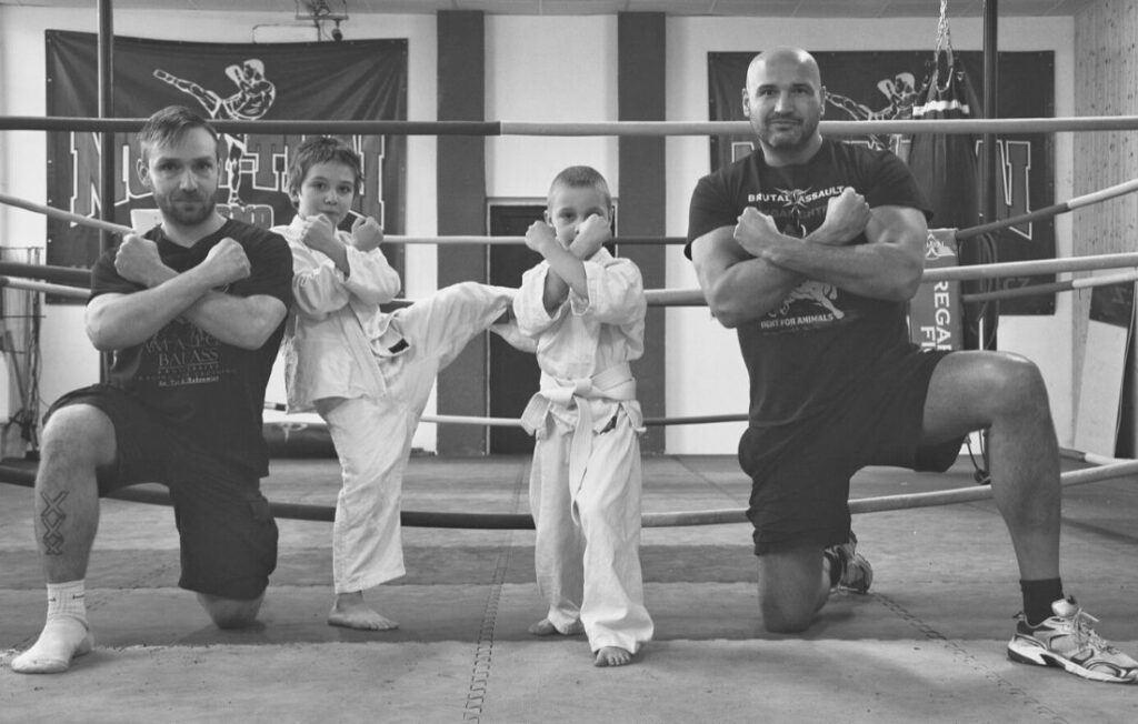 Filip Futák (vegan od narození), který je mezinárodním mistrem Slovenska v brazilskému jiu jitsu.